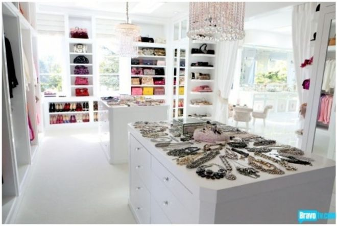 RHOBH Lisa Vanderpump Closet photos 1