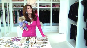 RHOBH Lisa Vanderpump Closet photos