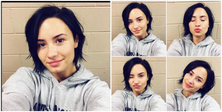 Demi Lovato No Make up