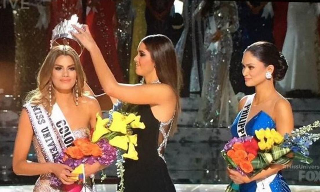 Miss Universo 2015 entregó uno de los momentos más amargos en la TV en vivo de los últimos años.